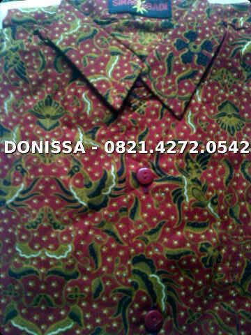 Grosir Hem Pendek Batik cemani