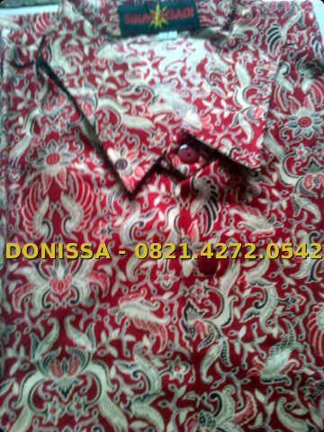 Grosir Pakaian Batik Sekolah D O N I S S A