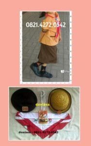 Jual Seragam dan topi hasduk Pramuka Murah