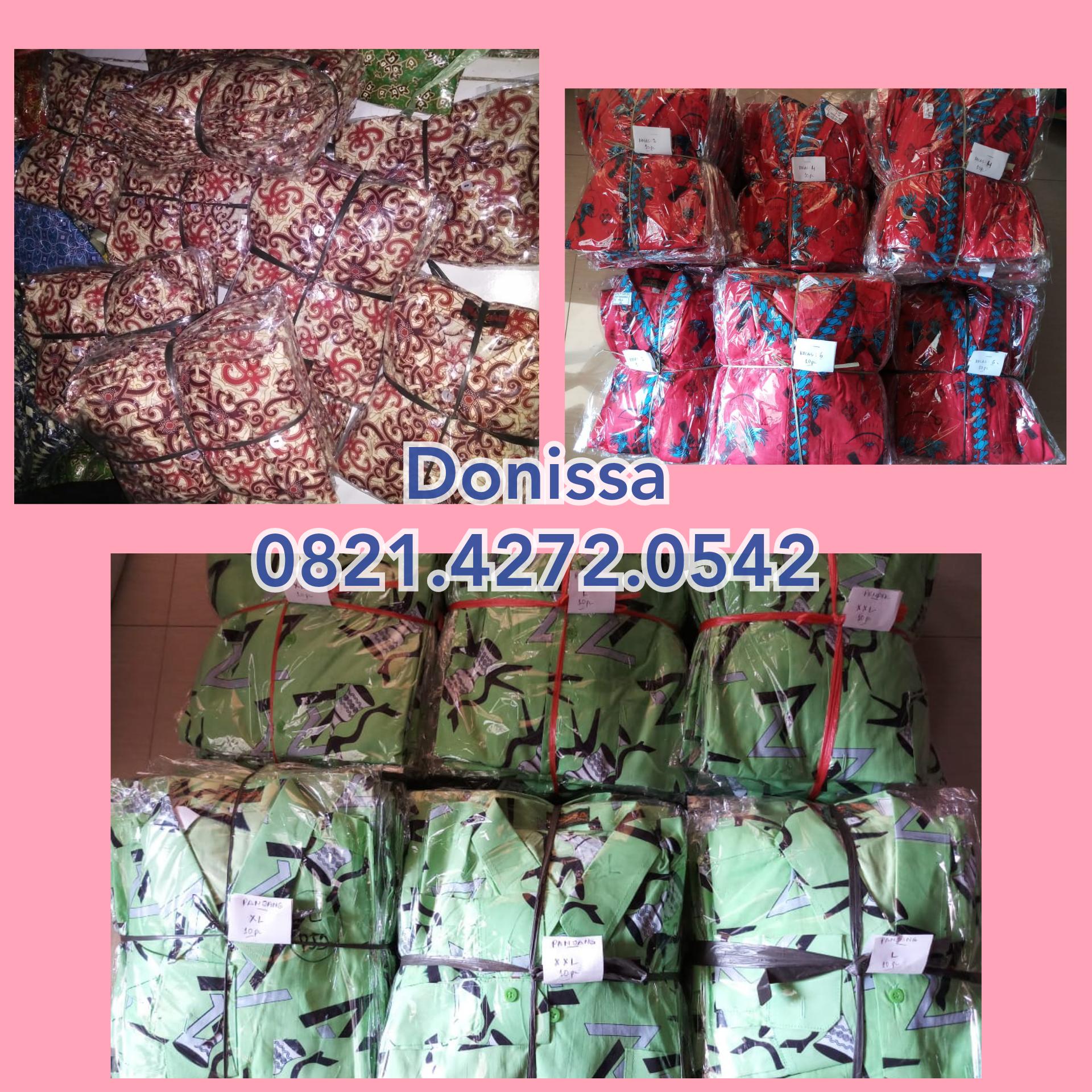 Produsen seragam batik cap atau printing berkualitas mantab